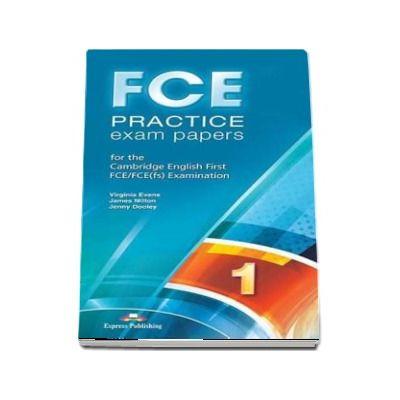 Curs limba engleza examen Cambridge FCE Practice exam Papers 1 Speaking Audio 2 CD - Virginia Evans