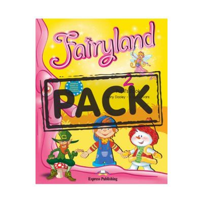 Curs limba engleza Fairyland 2 Pachetul elevului. Manual + DVD - Jenny Dooley