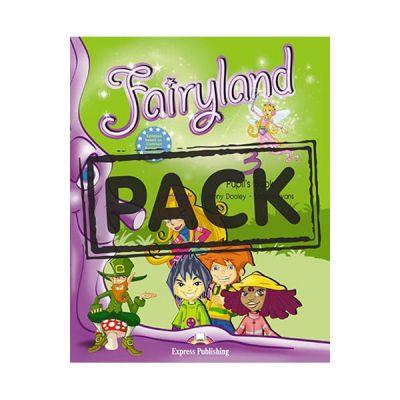 Curs limba engleza Fairyland 3 Pachetul elevului - Jenny Dooley