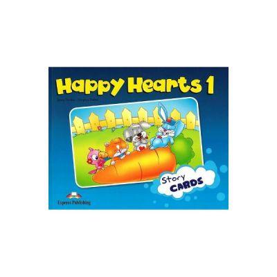 Curs limba engleza Happy Hearts 1 Story Cards - Jenny Dooley, Virginia Evans