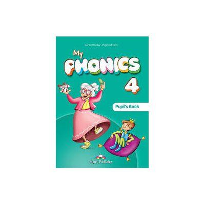 Curs limba engleza My Phonics 4 Manualul elevului cu cross-platform app. - Jenny Dooley