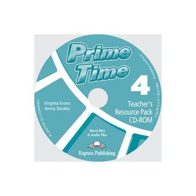 Curs limba engleza Prime Time 4 Material aditional pentru profesor CD-ROM - Virginia Evans