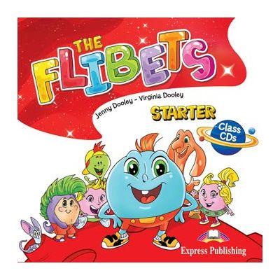 Curs limba engleza The Flibets Starter audio la manual set 2 CD - Jenny Dooley