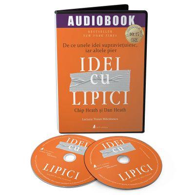 Idei cu lipici. Audiobook - Chip Heath, Dan Heath