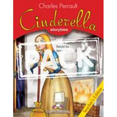 Literatura adaptata Cinderella Pachetul profesorului cu Multi-ROM - Jenny Dooley