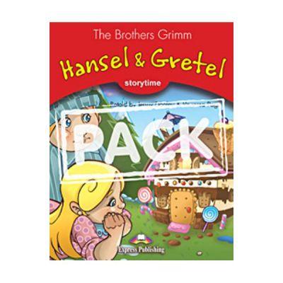 Literatura adaptata pentru copii Hansel and Gretel cu Multi-ROM - Jenny Dooley