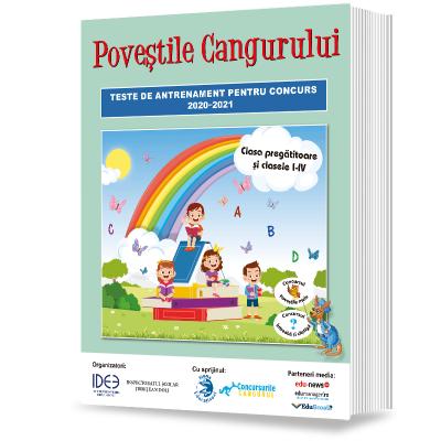 Povestile Cangurului 2020-2021. Revista de antrenament pentru clasa pregatitoare si clasele I-IV