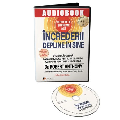 Secretele supreme ale increderii depline in sine. Audiobook - Robert Anthony