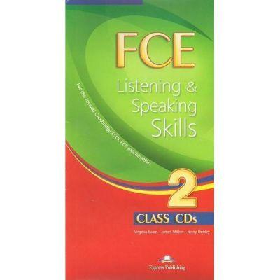 Teste limba engleza FCE Listening and Speaking Skills 2 Audio set 10 CD - Virginia Evans, Jenny Dooley, James Milton