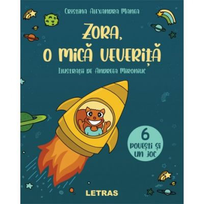 Zora, o mica veverita - Cristina Alexandra Manea
