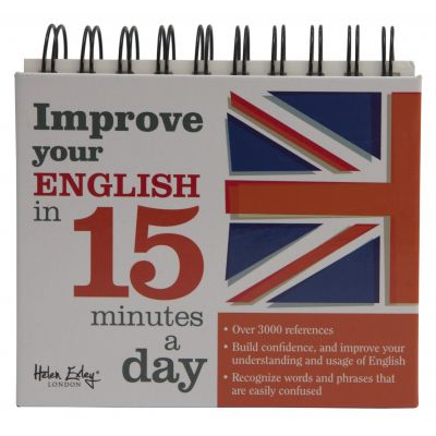 Calendarul Improve your English in 15 minutes a day