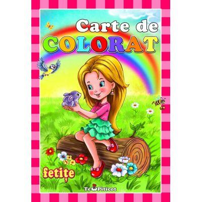 Carte de colorat pentru fetite - Ilustrator Catalin Nedelcu