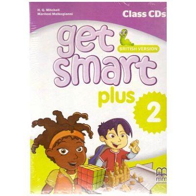 Get Smart Plus 2 British Version Class CDs - H. Q. Mitchell, Marileni Malkogianni