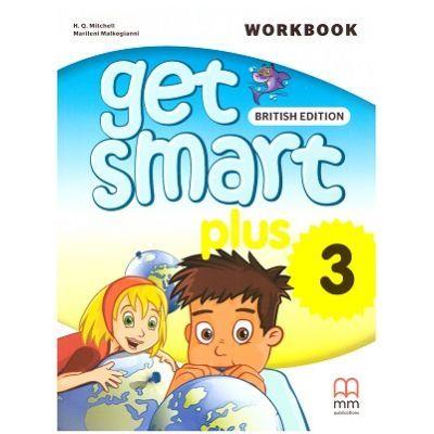Get Smart Plus 3 Workbook + CD-ROM British Edition - H. Q. Mitchell, Marileni Malkogianni