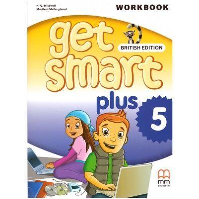 Get Smart Plus 5 Workbook + CD-ROM British Edition - H. Q. Mitchell, Marileni Malkogianni