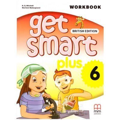 Get Smart Plus 6 Workbook + CD-ROM British Edition - H. Q. Mitchell, Marileni Malkogianni