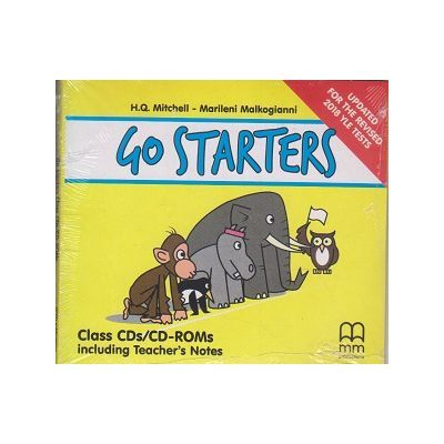 Go Starters Class CDs/CD-ROMs. Including Techer's Notes. Updates For The Revised 2018 YLE Tests - H. Q. Mitchell, Marileni Malkogianni