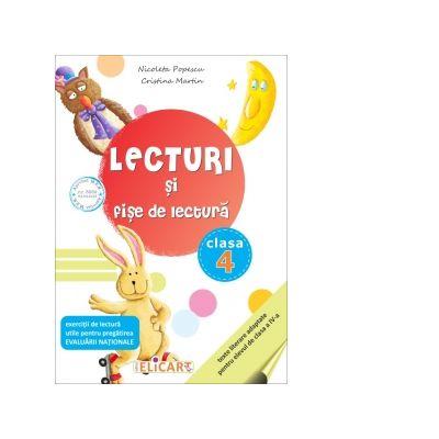 Lecturi si fise de lectura. Clasa a IV-a. Suport de lucru pentru orele de lectura - Nicoleta Popescu, Cristina Martin