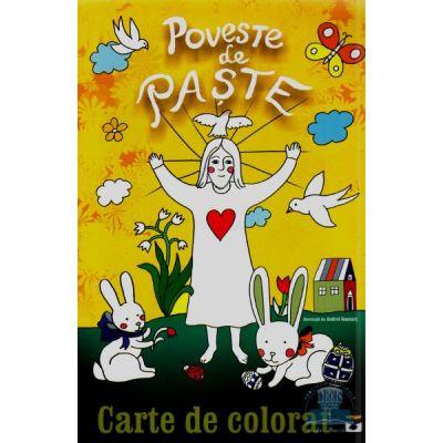 Poveste de Paste. Carte de colorat