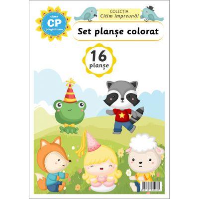 Set planse colorat clasa pregatitoare