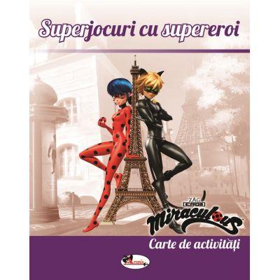 Superjocuri cu supereroi. Carte de activitati