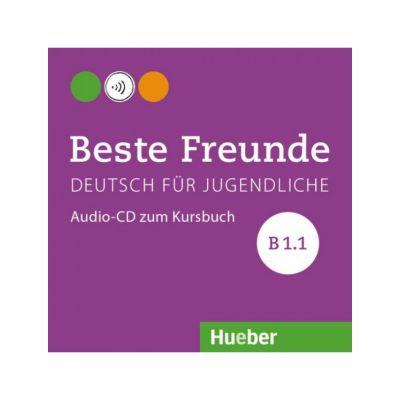 Beste Freunde B1. 1, CD zum Kursbuch - Manuela Georgiakaki, Elisabeth Graf-Riemann, Anja Schümann, Christiane Seuthe