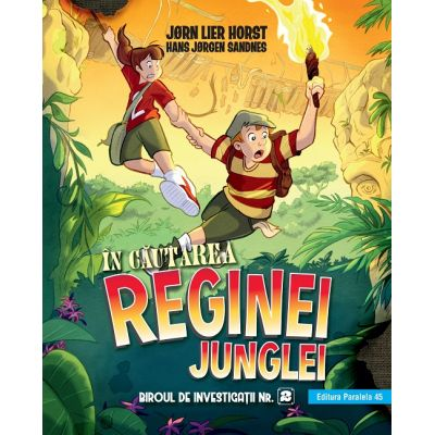 Biroul de investigatii nr. 2. In cautarea reginei junglei - Jorn Lier Horst, Hans Jorgen Sandnes