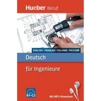 Deutsch fur Ingenieure Buch mit mp3 Download Englisch, Franzosisch, Italienisch, Russisch - Renate Karchner-Ober