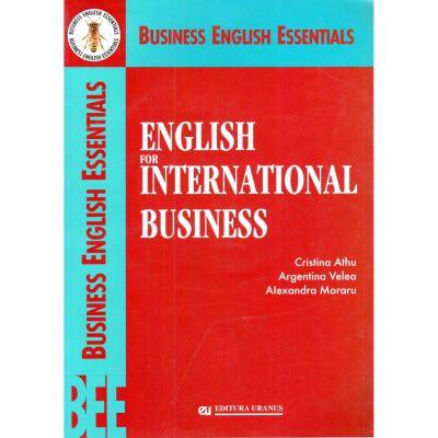 English for International Business - Cristina Athu, Argentina Velea, Alexandra Moraru