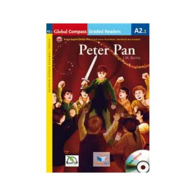 Graded Reader Peter Pan with mp3 CD Level A2. 1 British English. Retold - J. M. Barrie