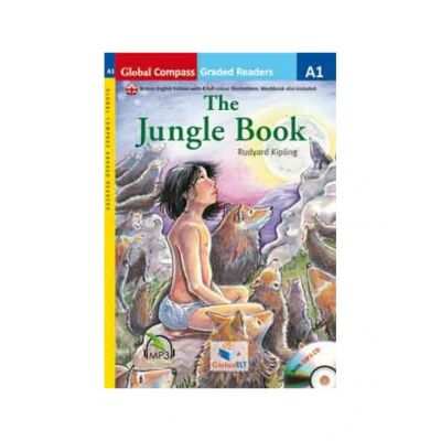 Graded Reader. The Jungle Book with mp3 CD Level A1 British English. Retold - Rudyard Kipling