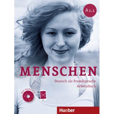Menschen A1. 1 Arbeitsbuch mit Audio-CD - Sabine Glas-Peters, Angela Pude, Monika Reimann