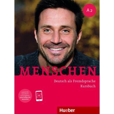 Menschen A2 Kursbuch mit Audio-Download - Charlotte Habersack, Angela Pude, Franz Specht