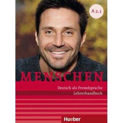 Menschen A2 Paket Lehrerhandbuch A2. 1 und A2. 2 - Susanne Kalender, Angela Pude
