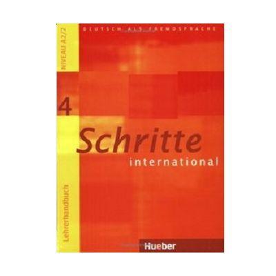 Schritte International 4 Lehrerhandbuch - Susanne Kalender