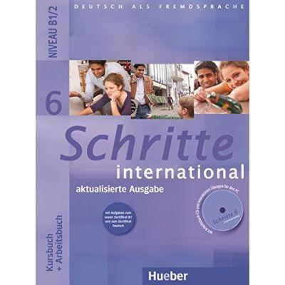 Schritte international 6, Kursbuch+Arbeitsbuch+CD zum Arbeitsbuch, Neubearbeitung