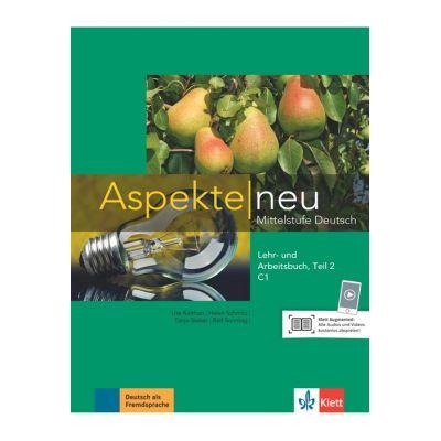 Aspekte neu C1, Lehr- und Arbeitsbuch, Teil 2 mit Audio-CD. Mittelstufe Deutsch - Ute Koithan