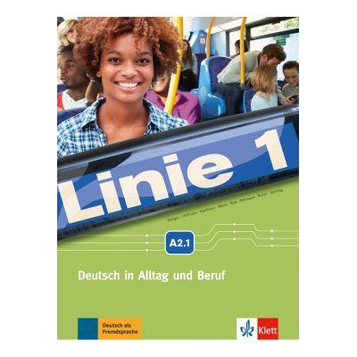 Linie 1 A2. 1, Kurs- und Übungsbuch mit DVD-ROM. Deutsch in Alltag und Beruf - Stefanie Dengler, Ludwig Hoffmann, Susan Kaufmann