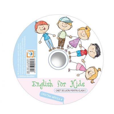 CD audio English for kids clasa I - Cristina Mircea