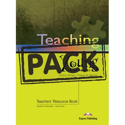 Carte de metodica in limba engleza Teaching Young Learners. Pachetul profesorului (Teachers Book with CD) - Suzanne Antonaros